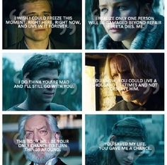 Their quotes Hunger games