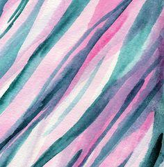 Moderne aquarel strepen schilderij giclée * afdrukken Beschikbare afdrukformaten…