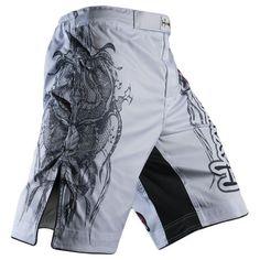 Hayabusa Mizuchi Fight Shorts White Size 38 MFS-W38