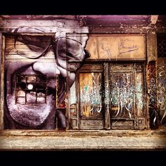 Wrinkles Of The City project on the walls of Havana by JR & Jose Parla.