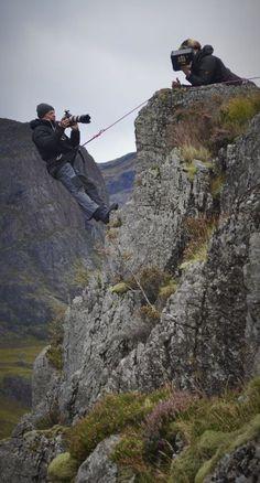 Glen Coe SS13 shoot #Photography #Photoshoot #Outdoors #Scotland #Mountains