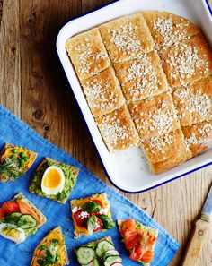 Vegetarian Recipes, Cooking Recipes, Healthy Baking, Bread Baking, Baked Goods, Bakery, Good Food, Food And Drink, Breakfast