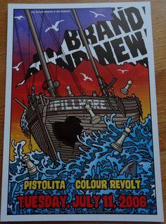 Lazy Labrador Records - Brand New · The Fillmore 2006 Concert Poster, $109.99 (http://lazylabradorrecords.com/brand-new-the-fillmore-2006-concert-poster/)