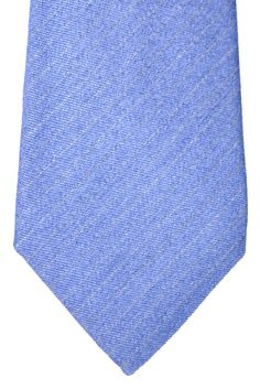 Kiton Sevenfold Tie Lavender Gray Stripes