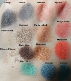 More Makeup Geek colors! click through to see swatches & review