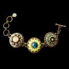 Ollipop - Gemstone trio bracelet