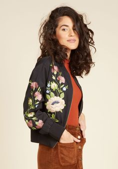 Simpatico Soul Jacket. Youre congenial to your core - and, judging from this black jacket, youre sweet on the surface, too! #black #modcloth
