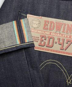 Edwin ED 47 - www.burgundschild.com