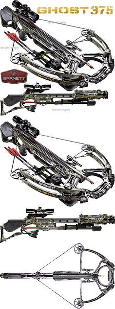 Crossbows 33972: 2017 Barnett Ghost 375 Compound Crossbow Package 4X32 Scope Quiver Arrows 78100 -> BUY IT NOW ONLY: $572.49 on eBay!
