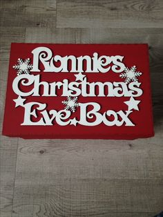 Christmas Eve Boxes Cheshire