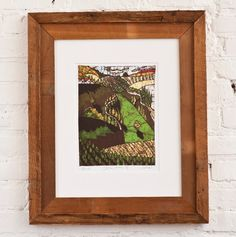 16x20 Cypress Road- Matted and Framed Art Print by Andrea Davis // SophiesandCompany, $225.00