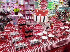 festa tema coca | festas confira diversas que realizamos home festas meninas coca cola