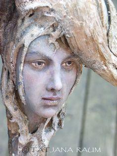 Wooden spirit Lavaya by chopoli on Etsy