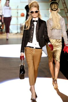 F/W 2012-13 awesome hairstyle too! love buffant, perfect for round faces!