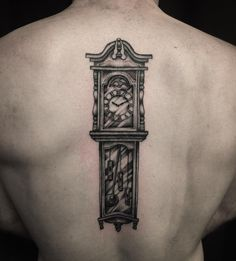 26 Best Grandfather Clock Tattoo Images In 2018 Clock Tattoos