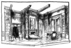 Sherlock's Last Case - Set Design by Richard Finkelstein, Stage Designer