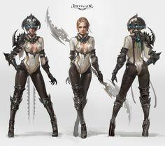 ArtStation - Devilian Tempest, 2015, Taehyun Kim