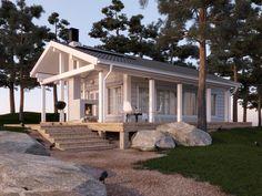 Customizable log home and cabin kits by Honka Log Homes