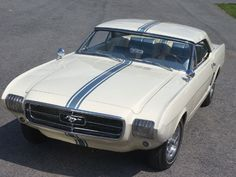 63 mustang. Only a concept, but it led to something you might have heard of.