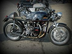 Cafe Racer #caferacer #motorcycles #norvin