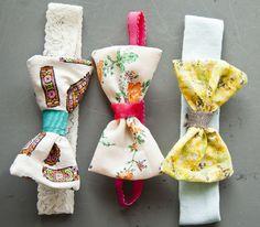 Lonie Mae Blog: DIY Baby Headbands.   Bow Tutorial
