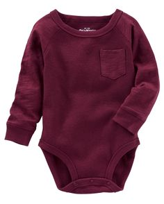 Raglan Pocket Thermal Bodysuit – Baby For look here Baby Boy Fashion, Fashion Kids, Cute Outfits For Kids, Toddler Outfits, Funny Baby Clothes, Babies Clothes, Guy Clothes, Babies Stuff, Newborn Girl Outfits