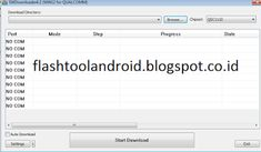FlashTool Android: Qualcomm SW Downloader
