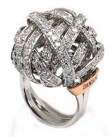 Damiani Chignon ring