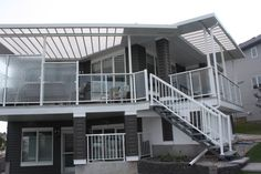 Browse through sunroom, pergola, screen room images and ideas. Sunroom, Pergola, Stairs, Patio, Home Decor, Sunrooms, Stairway, Decoration Home, Staircases