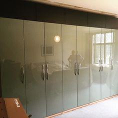 ikea pax vikedal doors Master Bedroom Inspiration in
