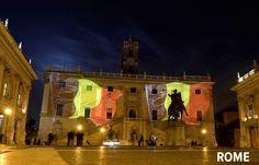 Les monuments célèbres du monde rendent hommage aux victimes des attentats de Bruxelles en s'illuminant aux couleurs de la Belgique (photos) - RTL Info