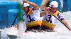Tim Baillie and Etienne Stott claimed Britain's first ever gold in the Canoe Slalom men's double, as team-mates David Florence and Richard Hounslow take silver in the same event.