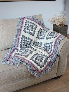 Geometric Crochet Afghan   ----  geometrische gehäkelte Decke