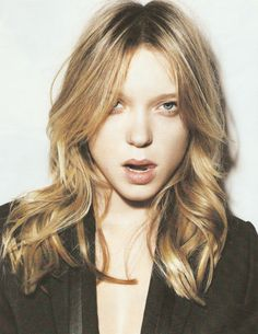 Find images and videos about photography, Lea Seydoux and french actress on We Heart It - the app to get lost in what you love. Lea Seydoux, French Beauty Secrets, French Actress, Grunge Hair, Great Hair, Hair Dos, Look Fashion, Hair Inspiration, Hair Makeup