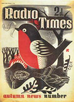 Gorgeousvintage covers of Radio Times magazinefrom the 1930s-1970s.