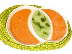 melónová polievka