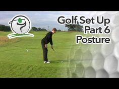 Great golf posture is crucial for consistent, accurate and powerful ball striking.  You don't have to be an athlete to achieve great posture over the ball and the tips on this page will work for golfers of all shapes and size.  The golf swing is essentially a turning motion around a central column – that central column being your spine. The better the position and the angle of your spine at address, the better it will be throughout the swing, especially at impact.