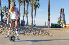 Onewheel : The Self-Balancing Electric Skateboard by Future Motion #Kickstarter starting at $1,199