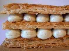 Mille-feuilles vanille (Philippe Conticini)