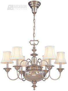 South Shore Decorating: Hudson Valley Lighting 8716 Yorktown Traditional Chandelier HV-8716