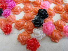 Mini resin flower cabs!