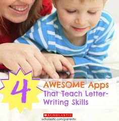 Get your preschoolers writing letters with these 6 apps.