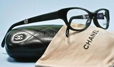 fa45c2a5fd6b6 Details about AUTHENTIC New CHANEL Eyeglasses Frame 3172 Black Silver CC  51mm Rx Glasses 501