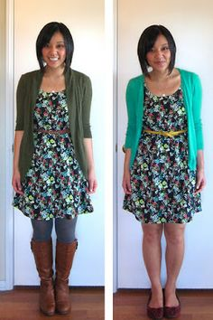 Perhaps the BEST blog for learning how to build a remixable wardrobe with tons of suggestions for how to use each piece in multiple ways. This is a MUST-pin pin!