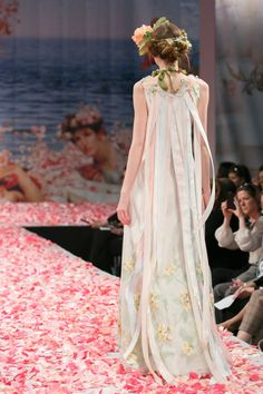 2013 wedding dress by Claire Pettibone An Earthly Paradise bridal collection Aria