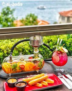 FUMO TANK ☀️ Persian Restaurant, Hookah Pipes, Hotel Room Design, Alcohol Drink Recipes, Cafe Interior Design, Hookah Lounge, Coffee Shop Design, Coffee Recipes, Diy Room Decor