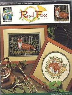 Red Fox by Michele Johnson Cross Stitch Pattern | eBay