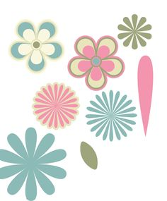 Design scrapbook: Cool flower shapes- easy tutorial in Adobe Illustrator