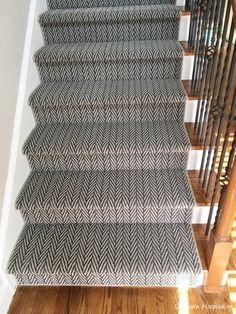 As part of my partnership with Shaw Floors, they allowed us to get a new runner for our new house for the staircase. We had a certain amount of flooring given to us since I'm part of the Style Board this year and it is such a blessing to us that this gift of carpet on the stairs will enhance our house so much. I'm a big fan of patterned carpets and Shaw has some gorgeous ones! We got lots of samples and decided on a beautiful herringbone pattern. We are both fans of classic patterns ...