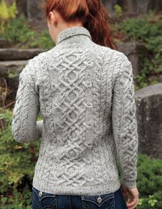 View more images from Galloway Pullover Pattern : only at Knitpicks.com